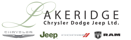 Lakeridge Chrysler Dodge Jeep Ltd Logo