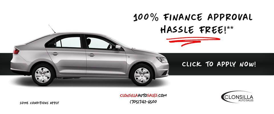 100% Finance Approval