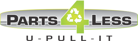 Parts 4 Less U Pull Logo