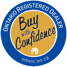 Ontario Registered Dealer. Buy With Confidence!